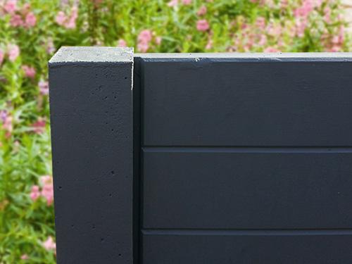 betonzaunsystem standard rabeneck zaunsysteme. Black Bedroom Furniture Sets. Home Design Ideas
