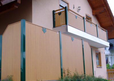 Sichschutz-Feld Latten-Füllung Vertikal